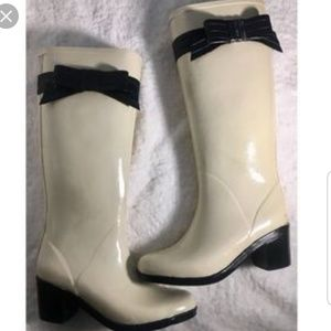 KATE SPADE ☂️ RAINBOOTS~ONLY USED 2X ~ SIZE 8